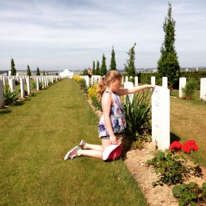 Ariella remembering the name of a fallen solider and taking his spirit home.